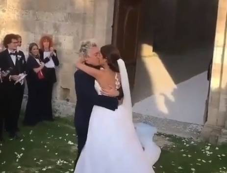 Lo chef Andrea Mainardi si è sposato