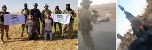 Siria, le immagini dell'orrore: le violenze dei jihadisti di Erdogan