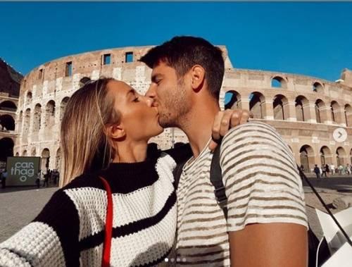 """Alvaro Morata e Alice Campello annunciano il sesso del nascituro: """"Un altro maschietto"""" -"""