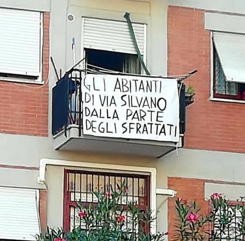 Pietralata, 7 famiglie italiane sotto sfratto. Il quartiere si mobilita per difenderle