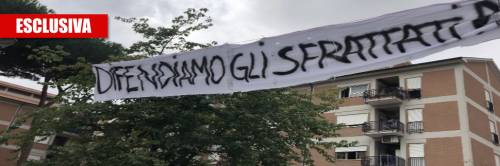 """Italiani sotto sfratto: """"Raggi pensi anche a noi, non solo ai rom"""""""