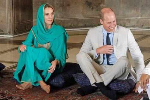 Principe William e Kate in visita a Lahore 2