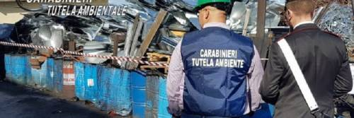 Sequestrata una discarica abusiva con 17mila metri cubi di rifiuti pericolosi