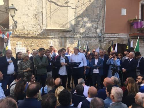 Bari, Emiliano presenta la sua candidatura alle prossime regionali 3