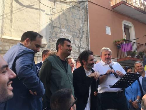 Bari, Emiliano presenta la sua candidatura alle prossime regionali 6