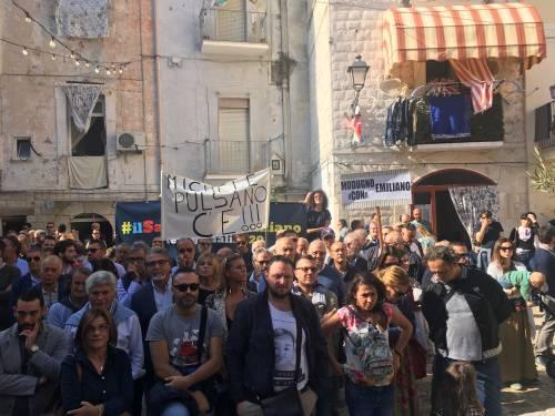 Bari, Emiliano presenta la sua candidatura alle prossime regionali 10