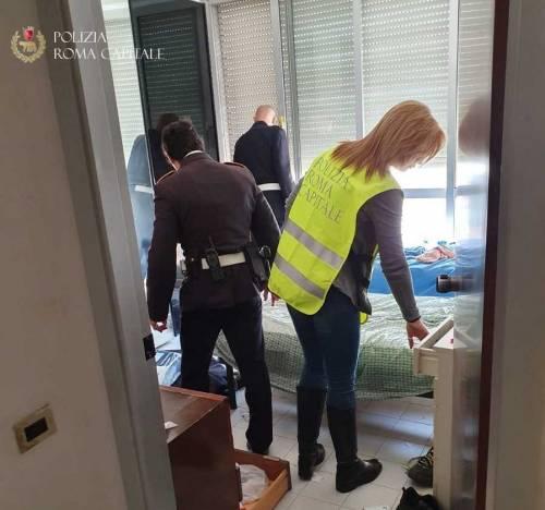 Bastogi, polizia locale sgombera appartamento occupato abusivamente da una coppia