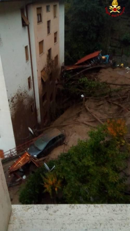 Maltempo, una frana colpisce Rossiglione: evacuate 20 famiglie 1