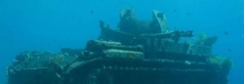 Salerno, ritrovato un carro armato americano in fondo al mare di Capaccio-Paestum