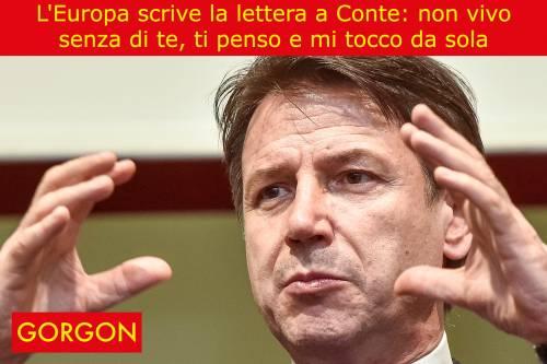 La satira del giorno: la lettera dell'Europa a Conte