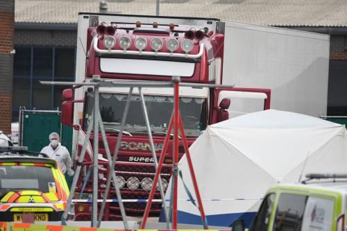 Trovati 39 corpi su un camion nell'Essex 1