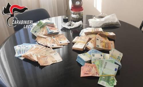 Otranto, droga e migliaia di euro in casa: denunciati due uomini
