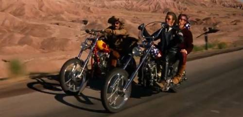 I due mitici chopper Harley-Davidson di Easy Rider