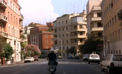 La Vespa verde di Nanni Moretti in Caro Diario