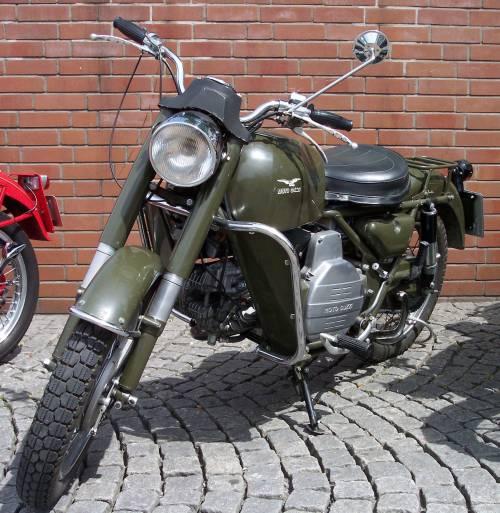 Moto Guzzi, moto militare
