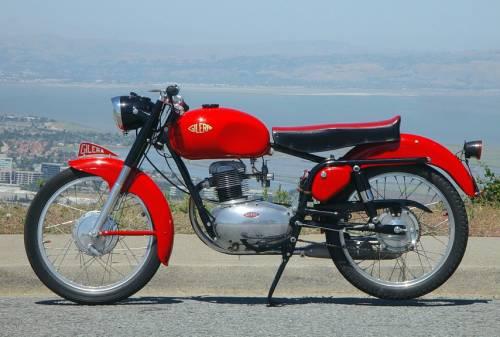 Gilera 150 sport del 1954