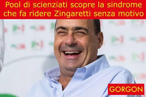 Ecco la satira del giorno: Nicola Zingaretti al microscopio