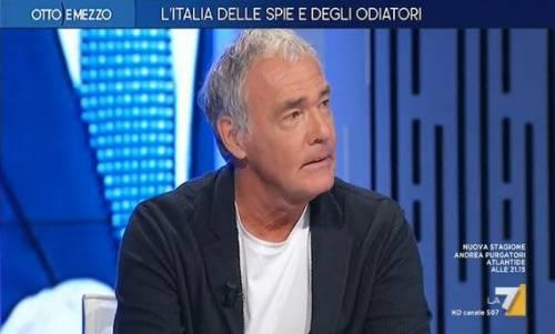 """Massimo Giletti silura la Rai: """"Nemmeno un telegramma per la morte di mio padre"""""""