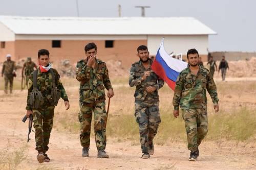 Siria, i curdi ringraziano Putin
