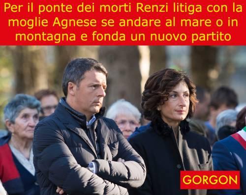 La satira del giorno: Renzi e il ponte dei morti