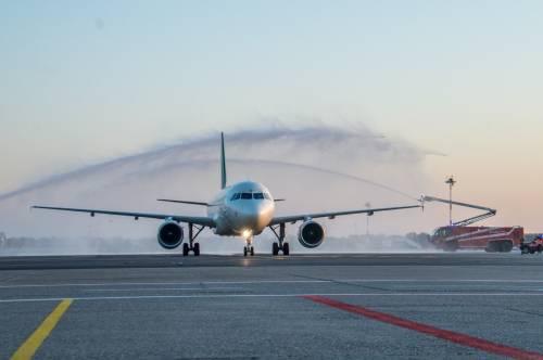 Linate torna a volare: Alitalia inaugura la nuova pista