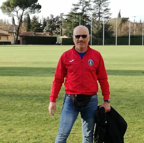 In foto, l'allenatore Marco Piliego (immagine da profilo Facebook)