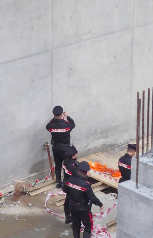 M4, incidente in cantiere: grave un operaio