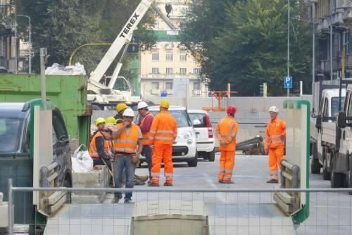 M4, incidente in cantiere: grave un operaio 2
