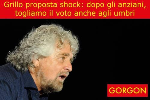 Ecco la satira del giorno: proposta choc di Beppe Grillo
