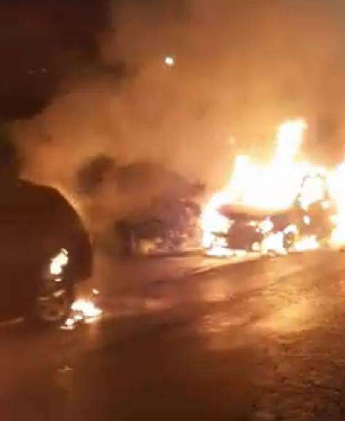 Incendiata l'automobile di un consigliere comunale di San Giorgio a Cremano