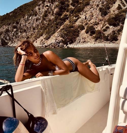 L'ex Miss Italia 2016 Rachele Risaliti ha fatto perdere la testa a Castrovilli