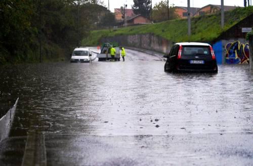 Il ciclone mediterraneo si abbatte sulla Penisola: maltempo da sud a nord