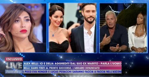 """L'ex marito di Delia Duran replica alle accuse di aggressione: """"Alex Belli se l'è data a gambe"""""""