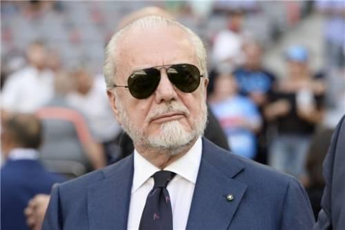De Laurentiis positivo in Lega I big del calcio ora a rischio