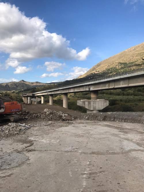 Viadotto Himera senza pace: nuovo rinvio per la consegna dei lavori