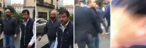 Tentata aggressione a Salvini: così la scorta ha sventato l'attacco