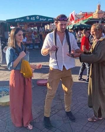 Anniversario a Marrakech per Cecilia Rodriguez e Ignazio Moser 3
