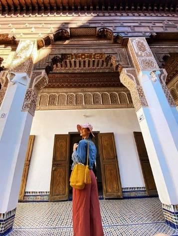 Anniversario a Marrakech per Cecilia Rodriguez e Ignazio Moser 6
