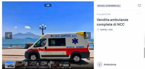 """La resa dell'imprenditore: """"I camorristi hanno vinto, vendo tutte le ambulanze"""""""