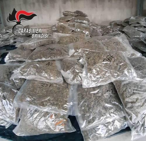 Brindisi, i carabinieri scovano il nascondiglio della droga 3