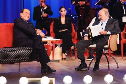 Silvio Berlusconi al Maurizio Costanzo Show 2