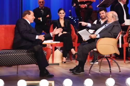 Silvio Berlusconi al Maurizio Costanzo Show 3