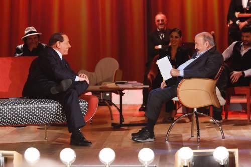 Silvio Berlusconi al Maurizio Costanzo Show 4