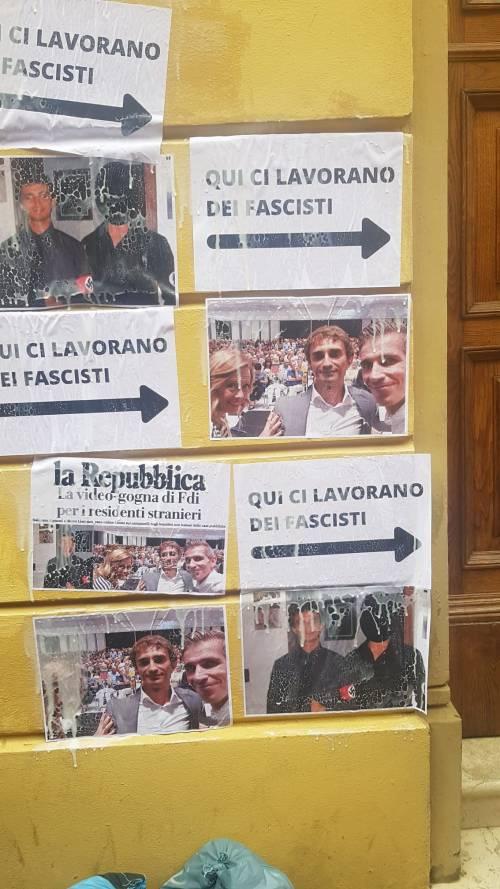 Bologna, il blitz allo studio del consigliere comunale Marco Lisei 3