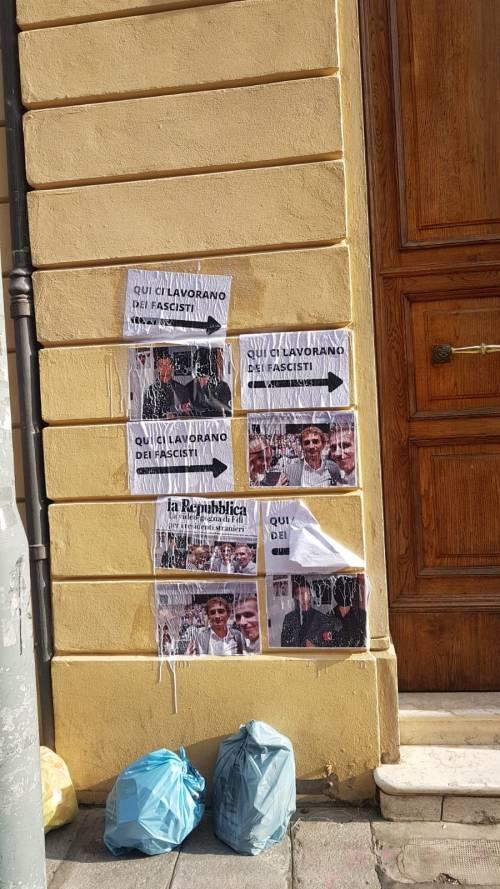 Bologna, il blitz allo studio del consigliere comunale Marco Lisei 4