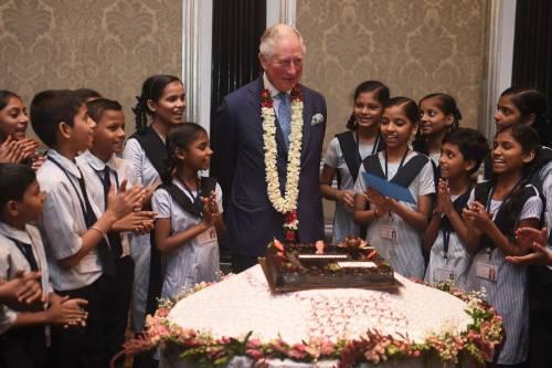 Compleanno in India per il principe Carlo 3