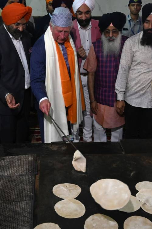 Compleanno in India per il principe Carlo 5