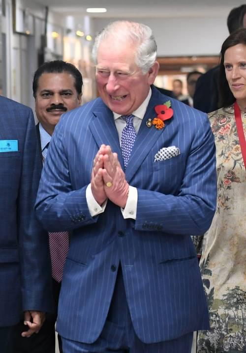 Compleanno in India per il principe Carlo 9