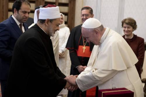 Quel dialogo tra Papa Francesco e l'imam anti Israele