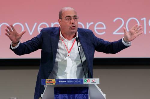 """Zingaretti adesso implora i grillini: """"Insieme ovunque o vince la destra"""""""